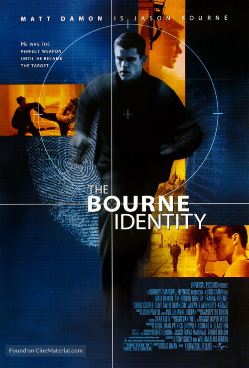 The Bourne Identity - Movie Poster