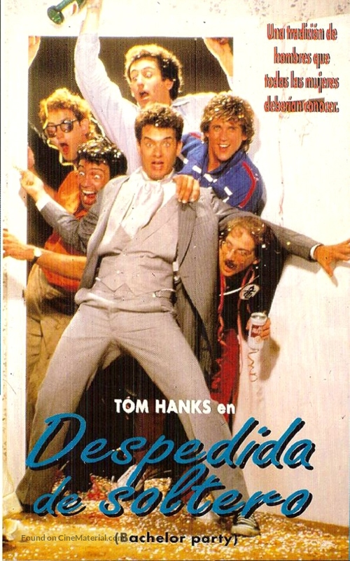 Bachelor Party - Spanish VHS cover