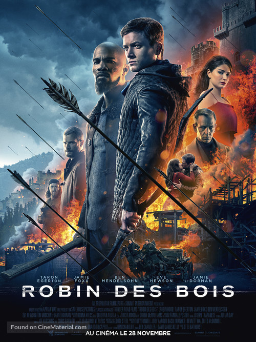 Robin Hood - French Movie Poster