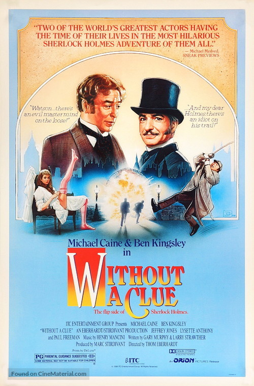 Without a Clue - Movie Poster