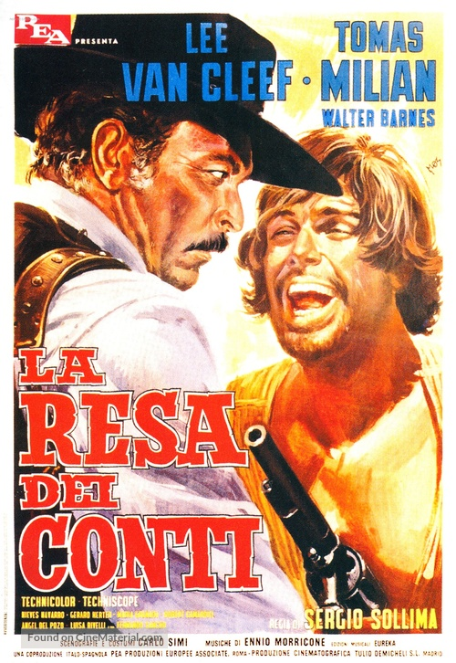 La resa dei conti - Italian Movie Poster