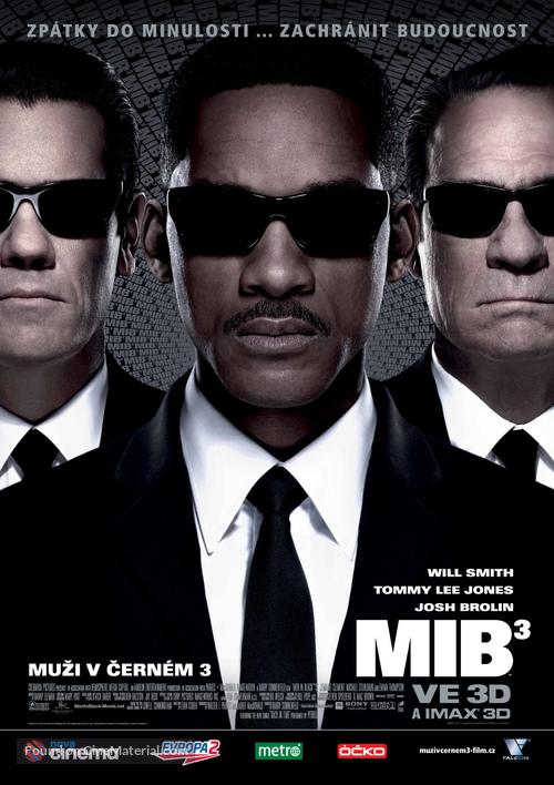 Men in Black 3 - Czech Movie Poster