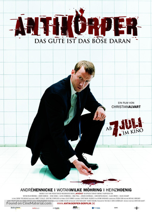 Antikörper - German Movie Poster