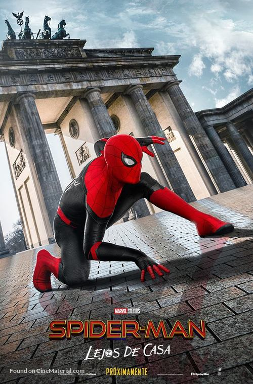 Spider-Man: Far From Home - Mexican Movie Poster