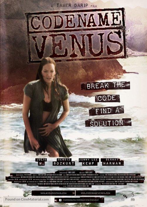 Kod Adi: Venüs - Turkish Movie Poster