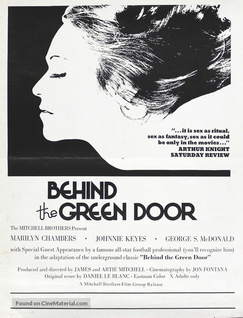 Behind the Green Door - Movie Poster