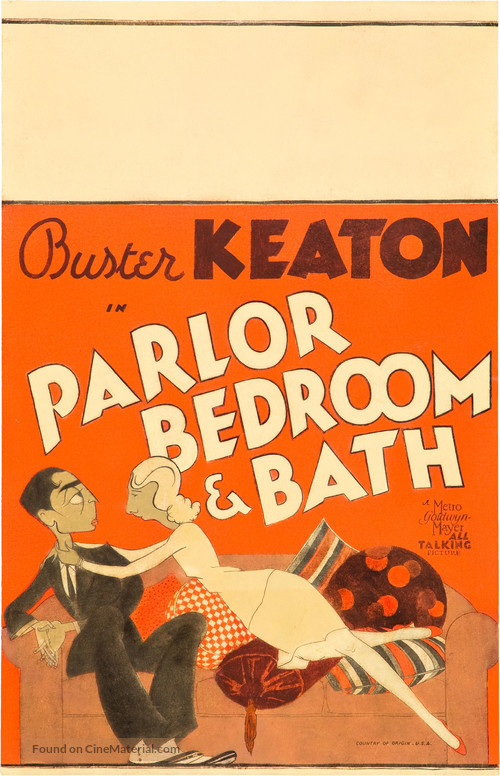 Parlor, Bedroom and Bath - Movie Poster