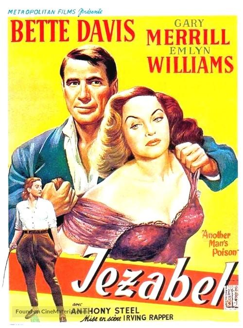 Jezebel - Belgian Movie Poster
