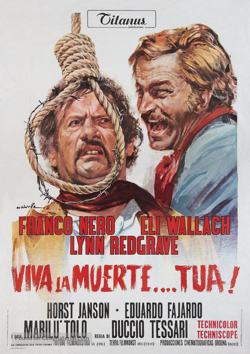 ¡Viva la muerte... tua! - Italian Movie Poster