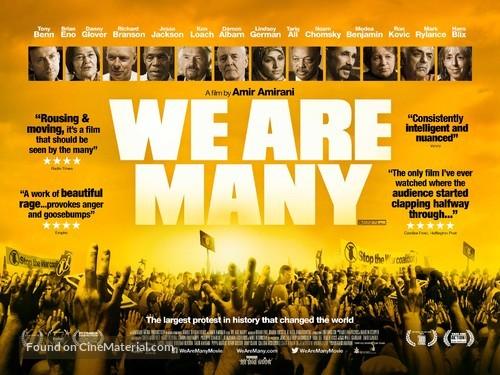 We Are Many - British Movie Poster