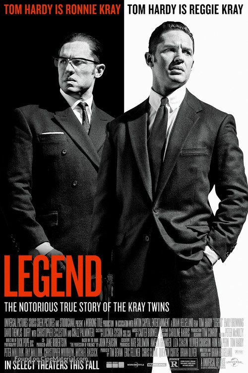 Legend - Movie Poster