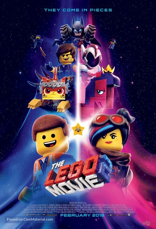 The Lego Movie 2: The Second Part - Indonesian Movie Poster