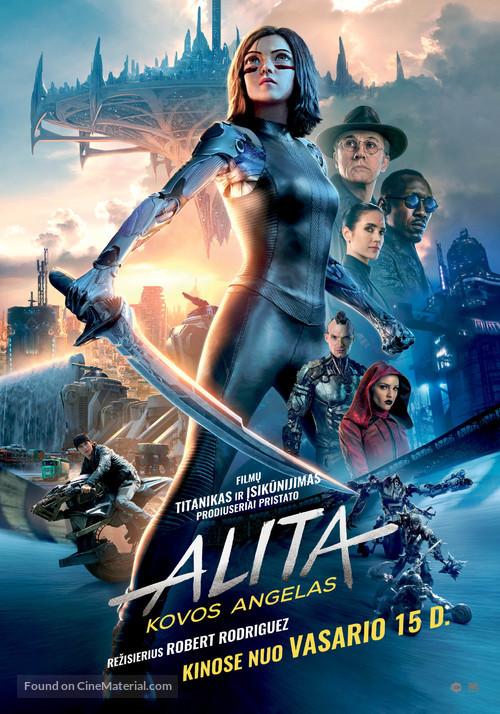 Alita: Battle Angel - Lithuanian Movie Poster