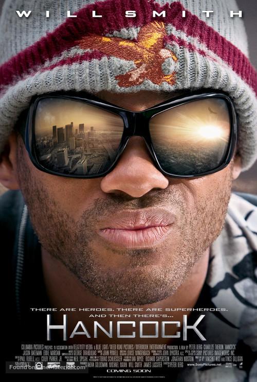 Hancock - Movie Poster