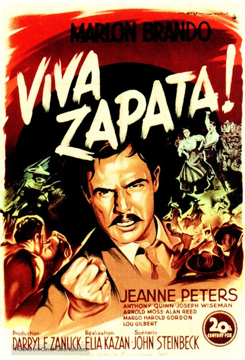 Viva Zapata! - French Movie Poster