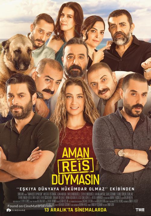 Aman Reis Duymasin - Turkish Movie Poster