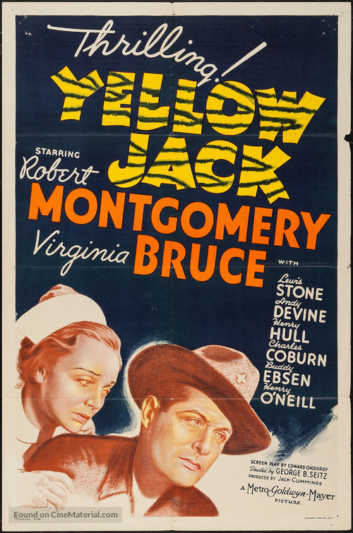 Yellow Jack - Movie Poster
