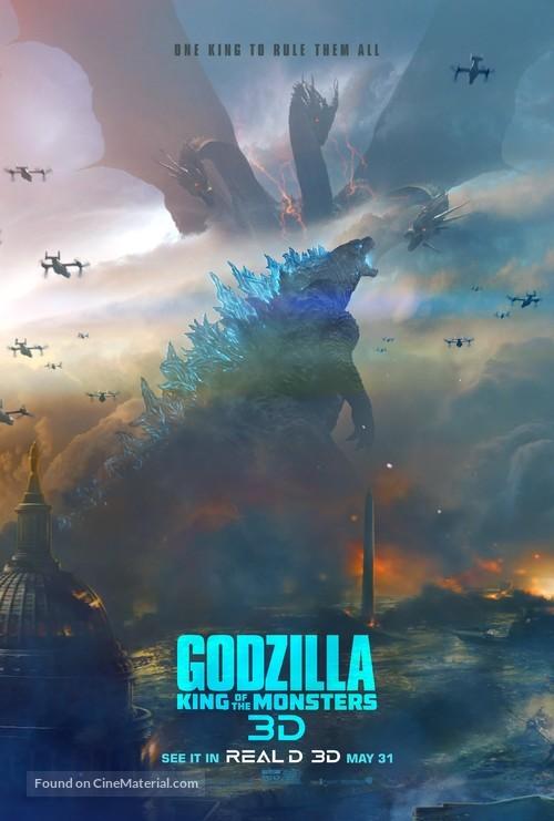 Godzilla: King of the Monsters - Movie Poster