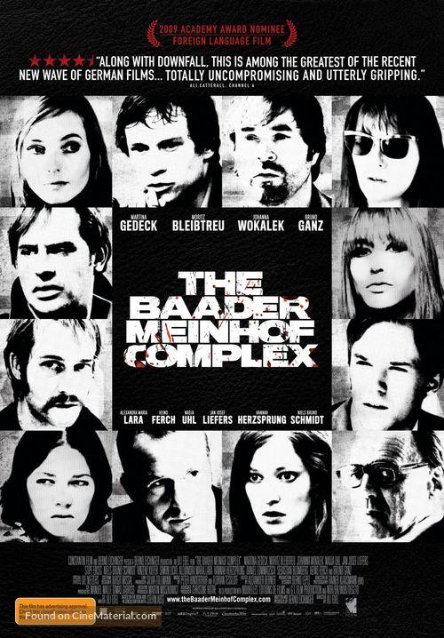 Der Baader Meinhof Komplex - Australian Movie Poster