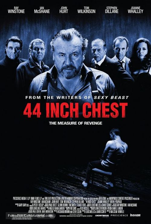 44 Inch Chest - British Movie Poster
