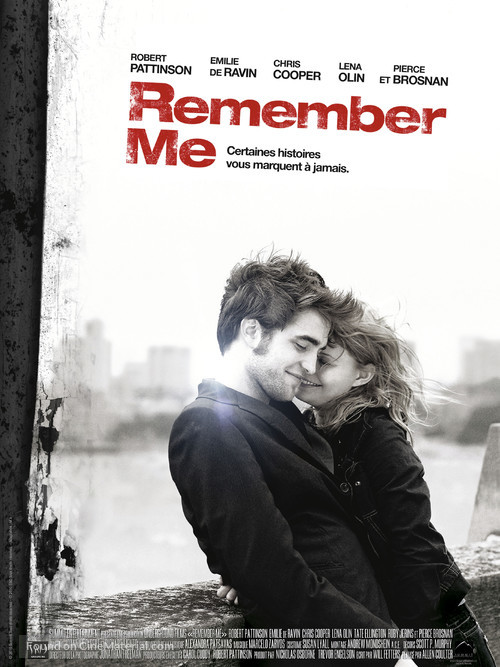 Remember Me - French Movie Poster