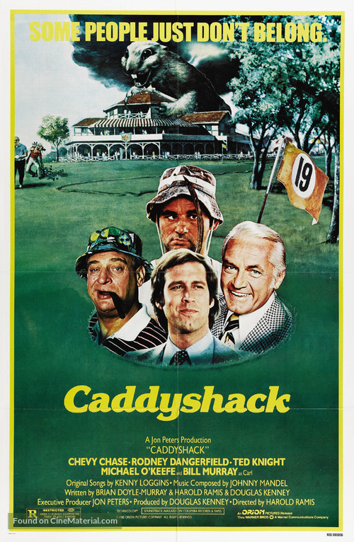 Caddyshack - Movie Poster