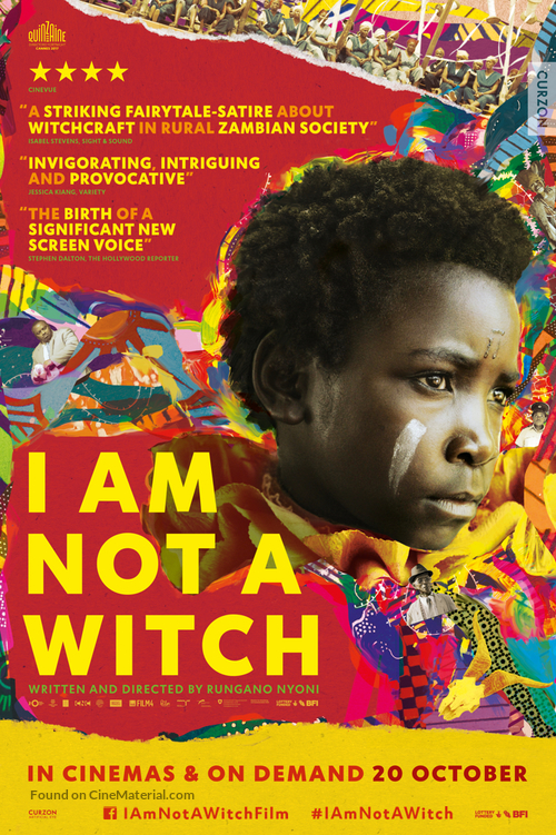 I Am Not a Witch - British Movie Poster
