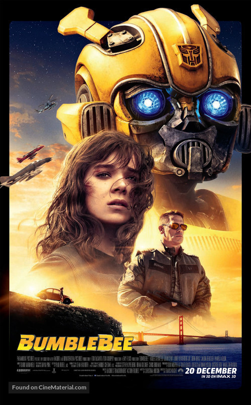 Bumblebee - Dutch Movie Poster