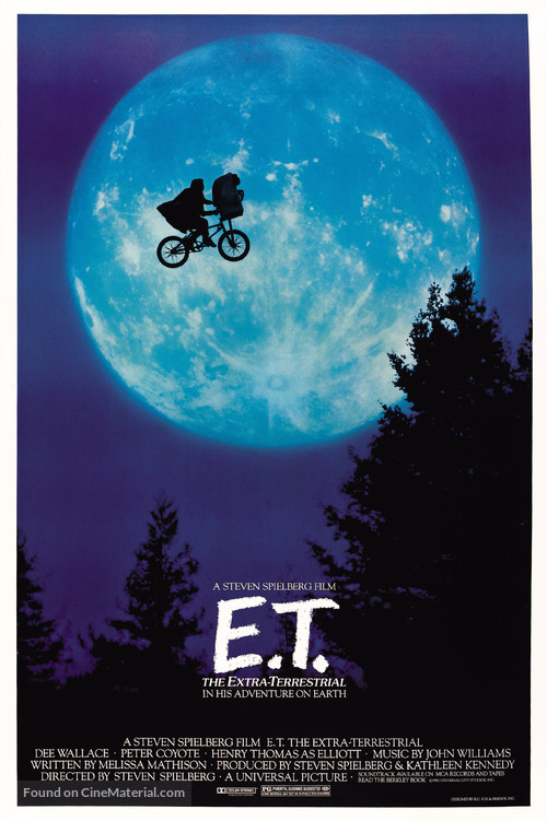 E.T.: The Extra-Terrestrial - Movie Poster