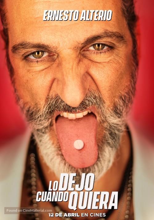Lo dejo cuando quiera - Spanish Movie Poster