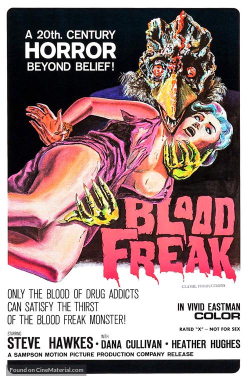 Blood Freak - Movie Poster