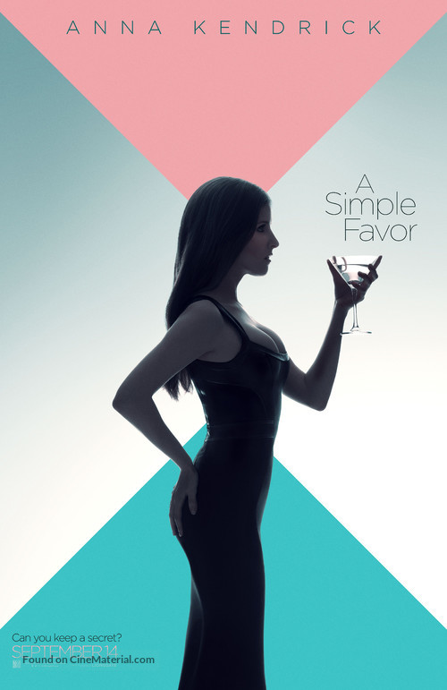 A Simple Favor - Character poster