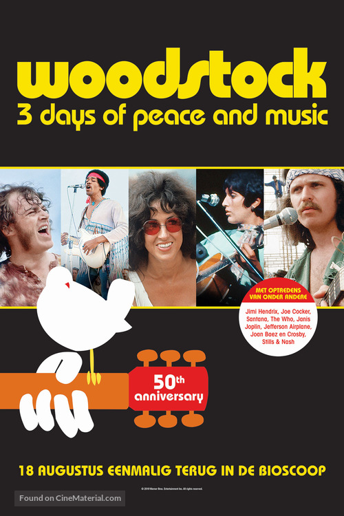 Woodstock - Dutch Movie Poster