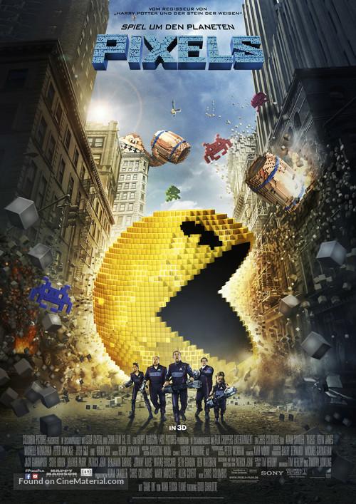 Pixels - German Movie Poster
