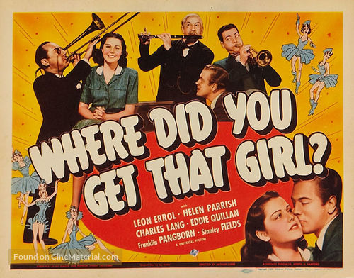 where-did-you-get-that-girl-movie-poster