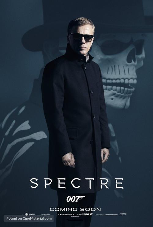 Spectre - Movie Poster