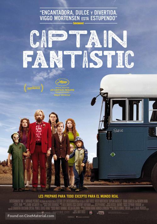 Captain Fantastic - Spanish Movie Poster