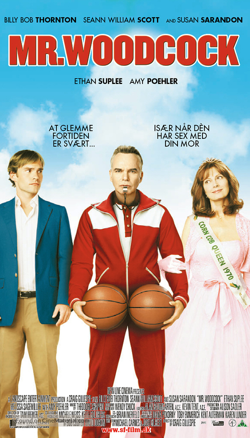 Mr. Woodcock - Danish Movie Poster
