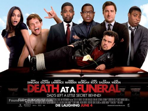 Death at a Funeral - British Movie Poster