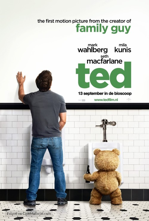 Ted - Dutch Movie Poster