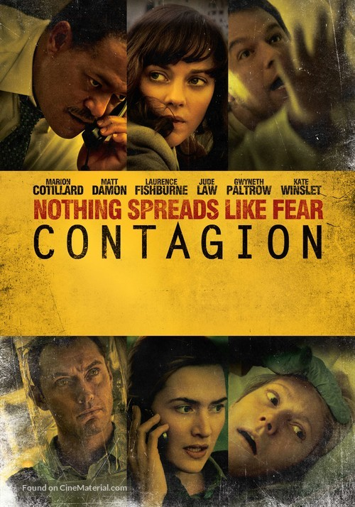 Contagion - Movie Poster