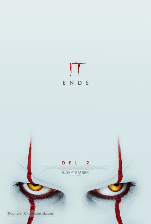 It: Chapter Two - Danish Movie Poster