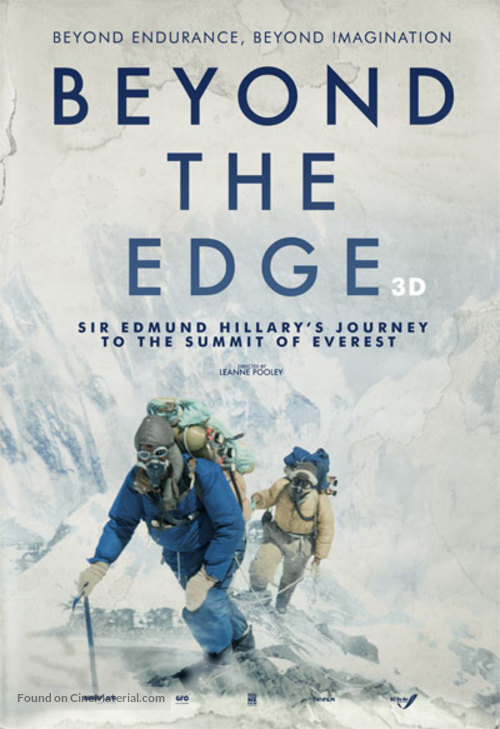 Beyond the Edge - New Zealand Movie Poster
