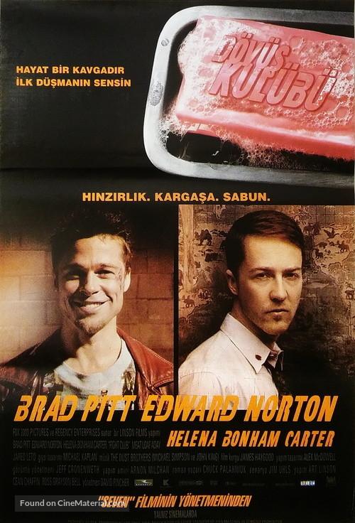 Fight Club - Turkish Movie Poster