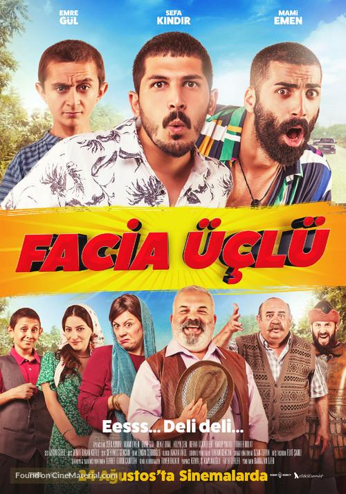 Facia Üçlü - Turkish Movie Poster