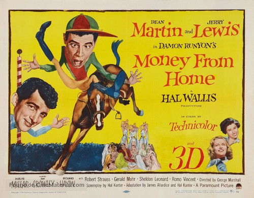 Money from Home - Movie Poster