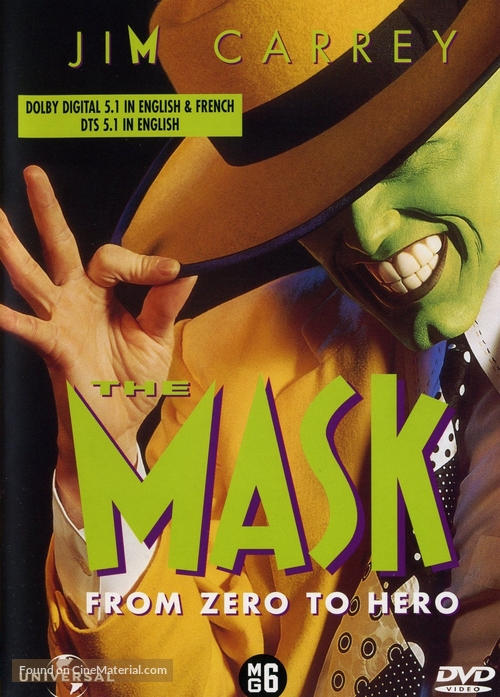 The Mask - Dutch Movie Cover