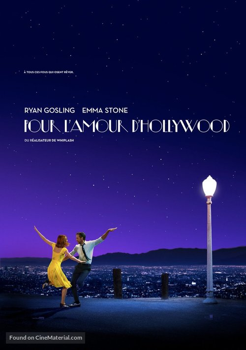 La La Land - French Movie Poster