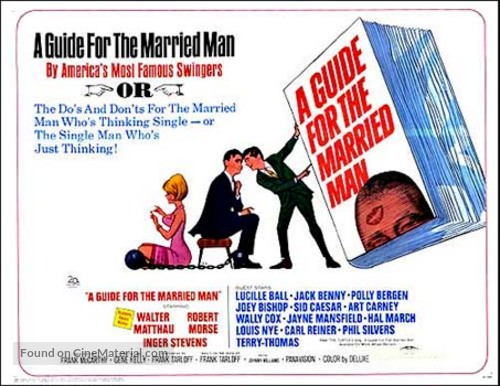 A Guide for the Married Man - Movie Poster