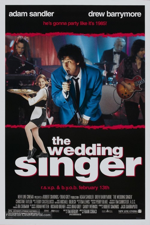 The Wedding Singer - Movie Poster